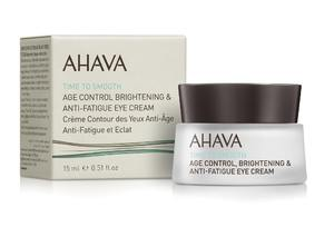 Крем омолаживающий для кожи вокруг глаз / Ahava Time to smoth Age control Brightening & Anti-fatigue Multi-care Eye cream