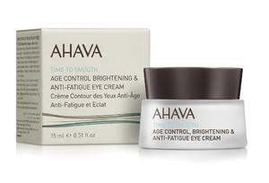 Крем омолаживающий для кожи вокруг глаз / Ahava Time to smoth Age control Brightening & Anti-fatigue Multi-care Eye cream