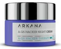 Ночной крем с гиалуроновой кислотой, Bacuchiol и комплексом Quora Noni PRCF® / Arkana A-QS Hacker Night Cream