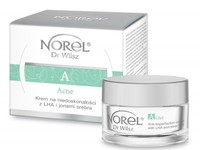 Ультралегкий крем с LHA кислотами и ионами серебра / Norel Anti-imperfection cream with LHA and silver ions