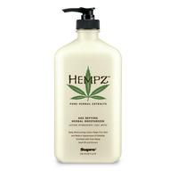 Антивозрастное увлажняющее растительное молочко для тела / Hempz Age Defying Herbal Moisturizer