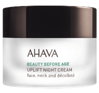 Лифтинговый ночной крем / Ahava Beauty Before Age Uplifting night cream for face, neck & decollete