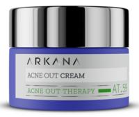 Крем для жирной и комбинированной кожи, а также склонной к высыпаниям / Arkana Acne Out Cream