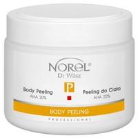 Пилинг для тела, в виде гелеобразной эмульсии, содержит 20% молочную кислоту, рH 4,5 / Body peeling AHA 20%