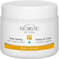 Кремовый пилинг для тела с экстрактом календулы для всех типов кожи / Norel Body peeling with marigold extract