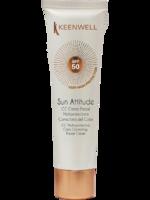 CC мультизащитный крем SPF 50 с тональным эффектом / Keenwell Cc multi-protective color correcting facial cream spf 50