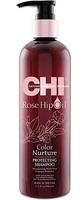 Защитный шампунь для окрашенных волос / CHI Rose Hip Oil Protecting Shampoo