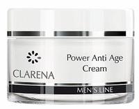 Крем против морщин для мужчин / Clarena Power Anti Age cream