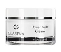Легкий матирующий мужской крем / Clarena Power Matt Cream