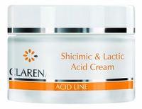 Увлажняющий крем с шикимовой и молочной кислотами / Clarena Shicimic & Lactic Acid Cream