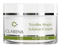Восстанавливающий, увлажняющий крем с 3-мя типами меристемальных клеток / Clarena Tricelles atopic Solution Cream
