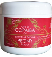 Маска для волос с копайским бальзамом и экстрактом пиона / Cosmofarma JoniLine Classic Copaiba Oil Resin And Peony Extract Hair Mask