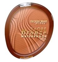 Бронзовая пудра TERRA 24ORE / Deborah Milano 24Ore Bronzer Waterproof SPF15