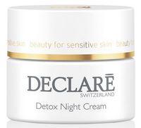 Ночной крем для омоложения кожи Detox / Declare Detox Night Cream