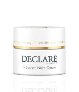 Успокаивающий ночной крем 5 Секретов красоты / Declare 5 Secret Night Cream