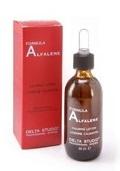 Укрепляющее средство для профилактики выпадения волос при жирной кожи / Delta Studio Detoxina Lozione Alfalene
