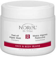 Отшелушивающая альгинатная маска с экстрактом клюквы для лица и тела / Norel Face & Body Rejuve – Cranberry peel-off algae mask