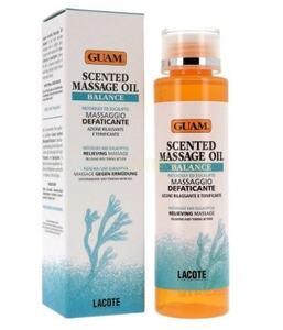 Массажное масло BALANCE с ароматом (против усталости) / GUAM Scented Massage Oil BALANCE (Massaggio Defaticante)