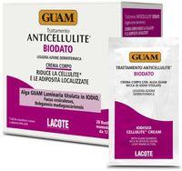 Антицеллюлитный крем для тела с повышенным содержанием йода / GUAM Trattamento Anticellulite BIODATO Crema Corpo