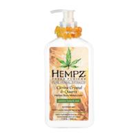 """Увлажняющее растительное молочко для тела """"Кристал-цитрус"""" / Hempz CITRINE CRYSTAL & QUARTZ Moisurizer"""