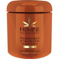 Маска для тела питательная Пряная Тыква, Ваниль и Корица / Hempz Pumpkin Spice & Vanilla Chai Body Mask