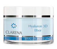 Моментально интенсивно увлажняющий эликсир для обезвоженной, шелушащейся кожи / Clarena Hyaluron 3D Elixir