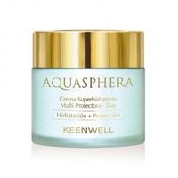 Дневной суперувлажняющий мультизащитный крем / Keenwell Aquasphera Moisturizing Multi-Protective Cream-Day