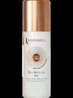 Мультизащитный спрей-флюид  для тела SPF-50 / Keenwell Multi-protective fluid body emulsion spf-50 spray