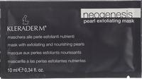 Жемчужная Anti-age маска «НЕОГЕНЕЗИС» для всех типов кожи - три в одном / Kleraderm Neogenesis Pearl Exfoliating Mask