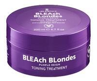 Тонирующая маска для нейтрализации желтых оттенков / Lee Stafford BLEAch Blondes Toning Mask Purple Reign