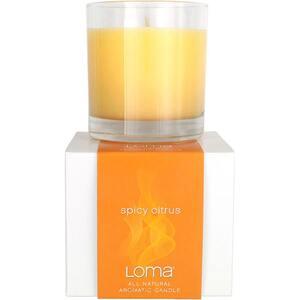 Ароматическая свеча «Пряный Цитрус» / Loma Spicy Citrus Aromatic Candle