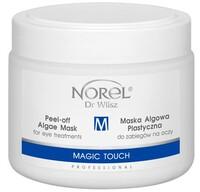 Увлажняющая, снимающая отёчность и темные круги под глазами альгинатная маска /Norel Magic Touch – Peel-off algae mask for eye treatments