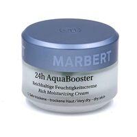 Крем для сухой кожи лица / Marbert 24h Aqua Booster Moisturizing Cream For Dry Skin