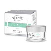 Антибактериальный матирующий крем для жирной, комбинированной и кожи с акнэ / Norel Acne – Antibacterial mattifying cream