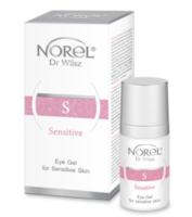 Гель для кожи с куперозом для периорбитальной зоны, снимающий отечность, против темных кругов / Norel Arnica Eye gel for couperose skin