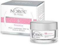 Увлажняющий крем с SPF 15 для чувствительной и кожи с куперозом / Norel Arnica Moisturizing cream SPF 15