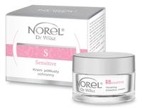 Быстро впитывающийся защитный крем для чувствительной кожи и кожи с куперозом / Norel Arnica Vanishing protective cream
