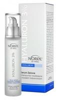 Увлажняющая гелевая сыворотка с 3 % гиалуроновой кислотой / Norel Hyaluron 3% - Intensive moisturizing gel serum with hyaluronic acid