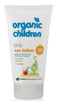 Солнцезащитный лосьон для детей с SPF30 Без запаха / Green People Organic Children Sun Lotion SPF30 - Scent Free