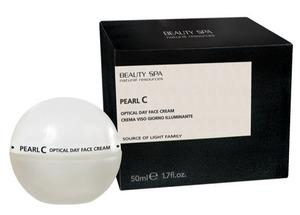 Дневной жемчужный крем «Перл С» для лица и шеи SPF 15 / Beauty Spa Pearl C