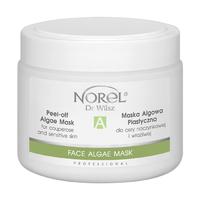 Альгинатная маска для чувствительной кожи и кожи с куперозом / Norel Peel-off algae mask for sensitive and couperose skin