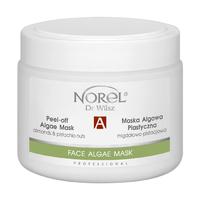 Альгинатная маска с миндалём и фисташками для сухой и комбинированной кожи / Norel Peel-off algae mask with pistachio nuts