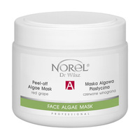 Увлажняющая восстанавливающая альгинатная маска с красным виноградом для зрелой кожи с эффектом лифтинга / Norel Peel-off algae mask with red grapes