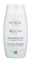 Эксфолиирующий гель для душа с антицеллюлитным комплексом / Norel Peeling shower gel with anti-cellulite complex