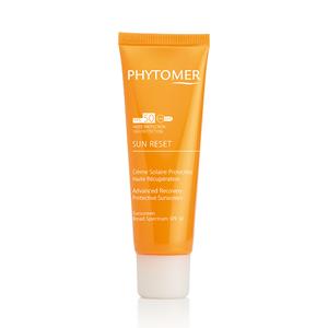 Солнцезащитный крем SUN-RESET-клеточное восстановление SPF50+ / Phytomer SUN RESET ADVANCED RECOVERY PROTECTIVE SUNSCREEN SPF50