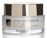 Крем с коллоидным золотом / Ramosu Dr.Hedison Gold Activation Rich Cream