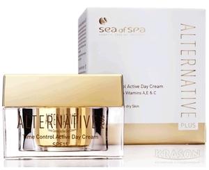 Антивозрастной дневной крем / Sea of Spa Alternative Plus Time Control Active Day Cream SPF-15