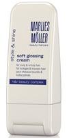 Крем-блеск для выпрямления волос / Marlies Moller Soft Glossing Cream