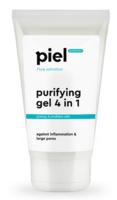 Гель для умывания для проблемной кожи. Глубокое очищение / Piel Cosmetics Pure Salvation PURIFYING GEL CEANSER 4in1