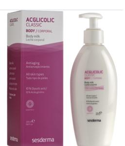 Молочко для тела с гликолевой кислотой / SeSDERMA Acglicolic Classic Leche Corporal